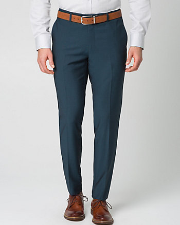 Tonal Piqué Slim Leg Pant