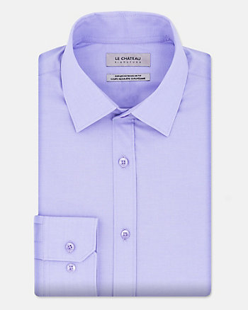 Stretch Poplin Euro Fit Shirt