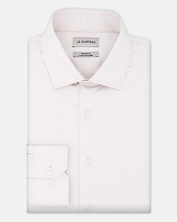 Chemise de coupe régulière en satinette