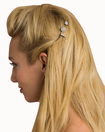 Gem & Pearl-Like Bobby Pins