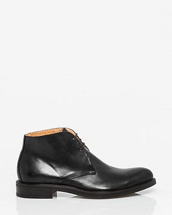 Italian-Made Leather Chukka Boot