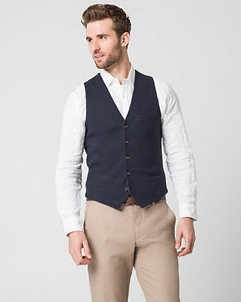 Brushed Jersey City Fit Vest