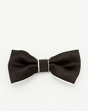 Two-Tone Microfibre Bow Tie