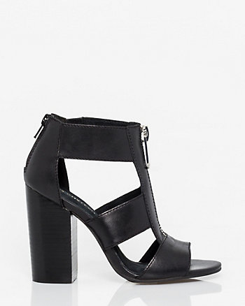 Leather Open Toe Gladiator Sandal