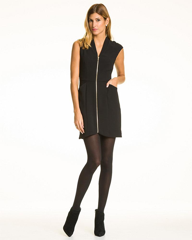 9b2d2508bdec Tricoteen Zip-Front Mini Dress | LE CHÂTEAU