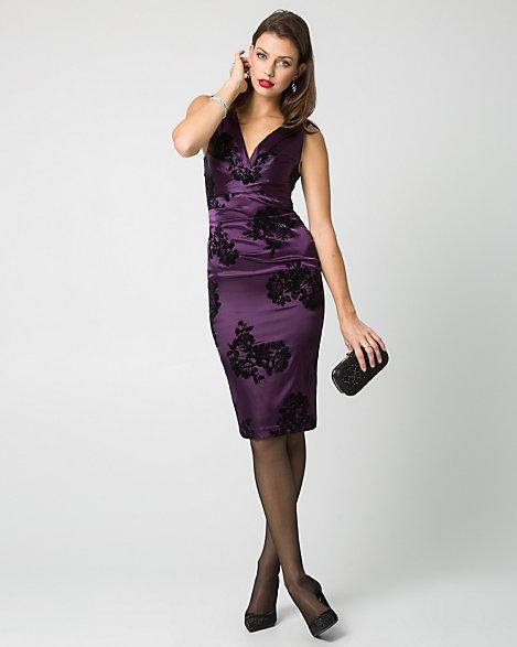 Satin Cocktail Dresses