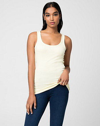 Cotton & Modal Blend Scoop Neck Camisole