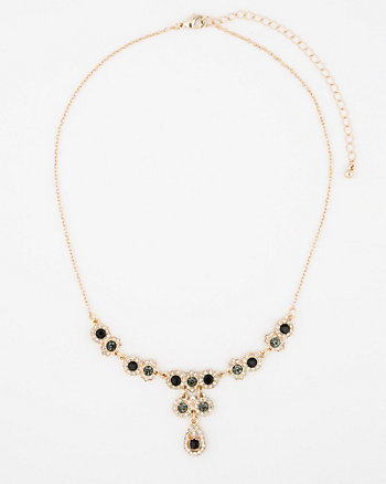 Gem Single Strand Necklace