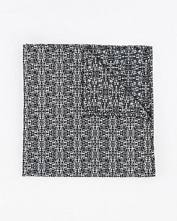 Mouchoir de poche à motif en lurex