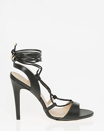 Brazilian-Made Faux Leather Sandal