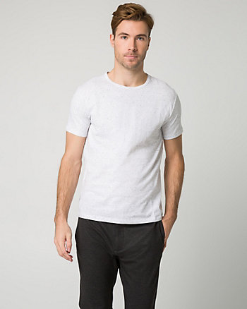 Cotton Crew Neck Top