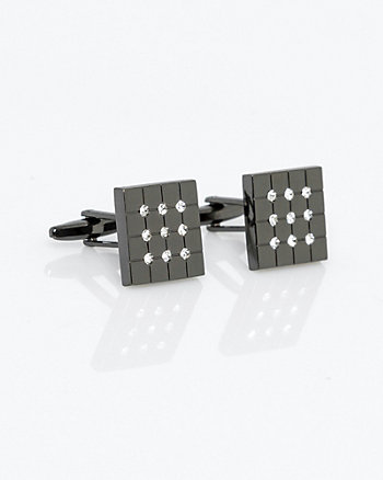 Square Gem Cufflinks
