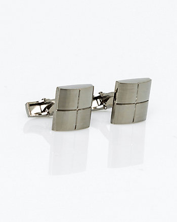 Two Tone Metal Cufflinks