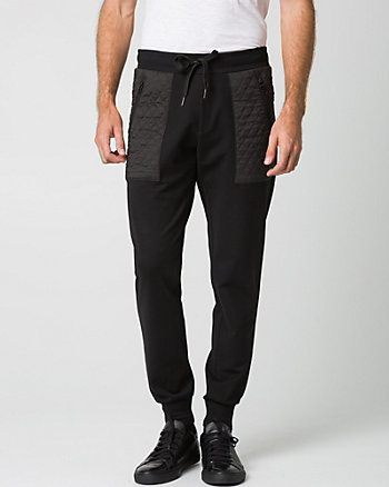 Pantalon de jogging en tricot