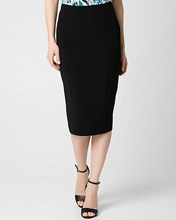 Double Weave Midi Skirt