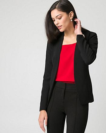 Tricoteen Open-Front Blazer