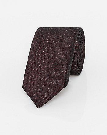 Cravate étroite en lurex