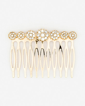 Gem Encrusted Hair Comb