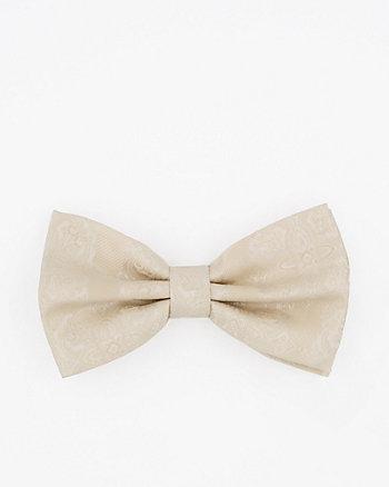 Tonal Microfibre Bow Tie