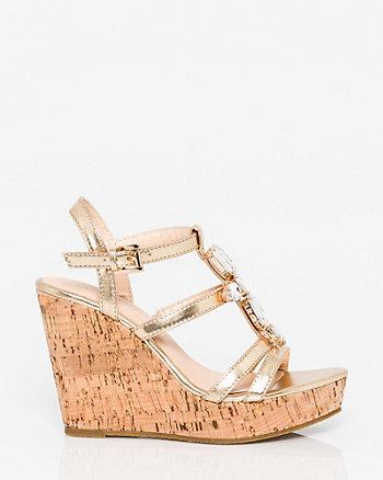 Jewel Embellished Gladiator Sandal