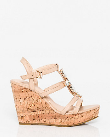 Jewel Embellished Gladiator Sandal