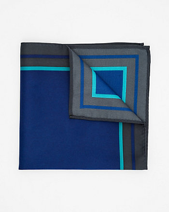Colour Block Pocket Square