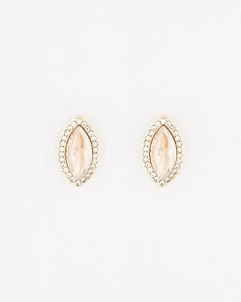 Gem Stud Earrings
