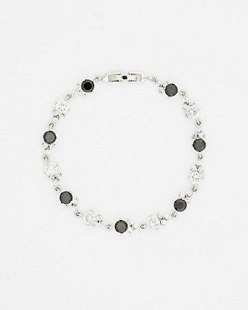 Cubic Zirconia Gem Bracelet