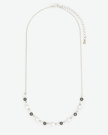 Cubic Zirconia Gem Necklace