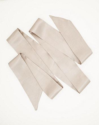Ceinture-écharpe de satin