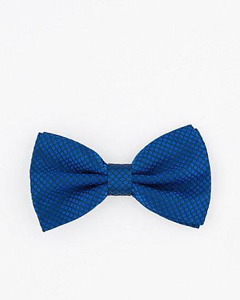 Novelty Print Silk Bow Tie