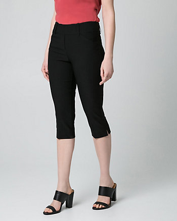 Stretch Tech Straight Leg Crop Pant