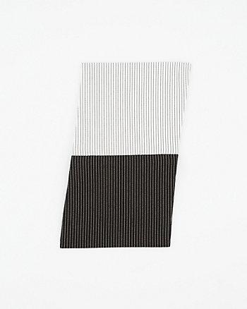 Two Tone Cotton Blend Pocket Card
