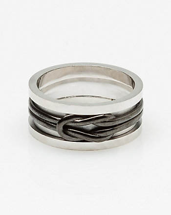 Silver Wrap Wire Ring