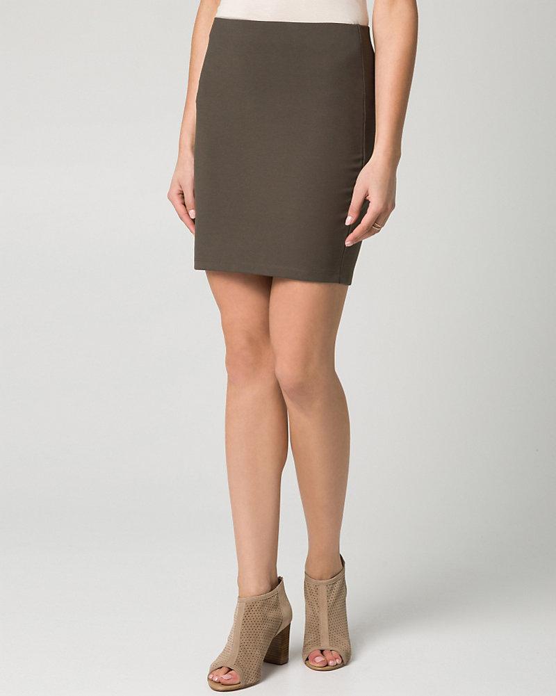 1bafe0e044 YOU MAY ALSO LIKE. Previous. image. Ponte Midi Pencil Skirt