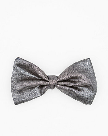 Italian-Made Novelty Silk Blend Bow Tie