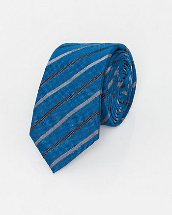 Italian-Made Silk Blend Tie