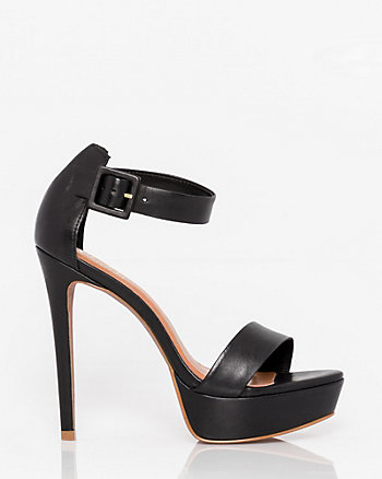 Brazilian-Made Leather Platform Sandal