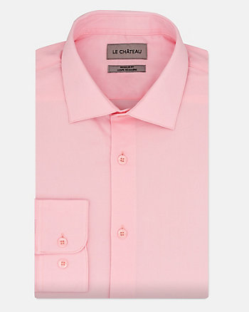 Tonal Cotton Twill Regular Fit Shirt
