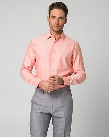 Chemise habillée deux tons en sergé