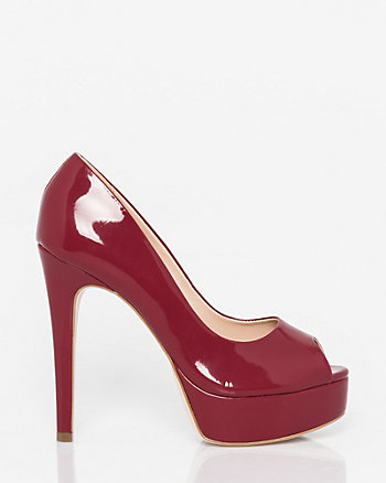 Brazilian-Made Patent Faux Leather Pump