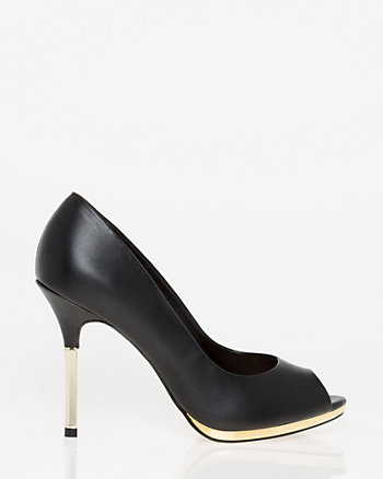 Brazilian-Made Faux Leather Pump