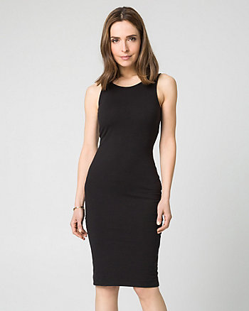 Cotton Jersey Midi Tank Dress