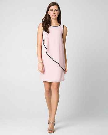 Crêpe Chiffon Cocktail Dress