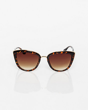 Plastic Cat Eye Sunglasses