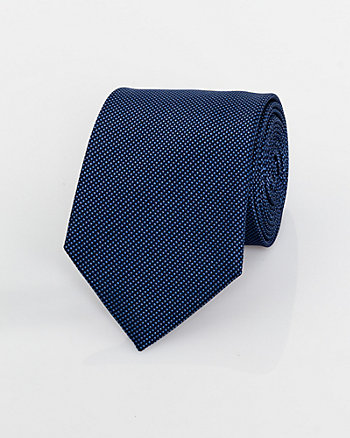 Textured Silk Piqué Tie