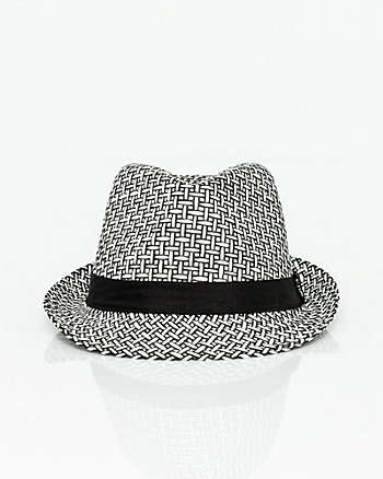 Two-Tone Paper Fedora