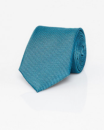 Two-Tone Textured Silk Tie