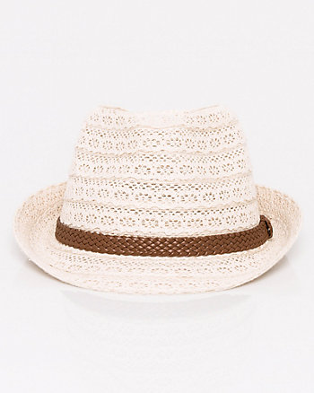 Lace & Cotton Fedora