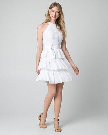 Ghost Gauze Halter Dress